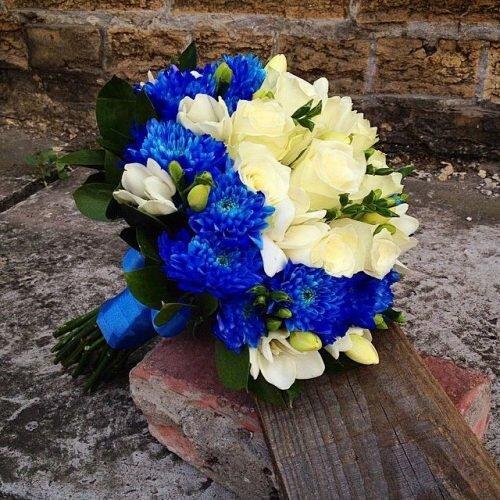 свадебный букет из цветов