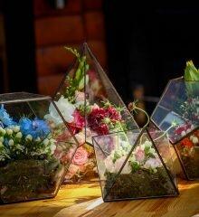 four florariums
